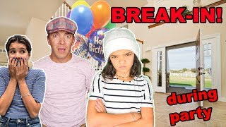 Someone BROKE INTO our HOUSE during Rykel's BIRTHDAY PARTY!