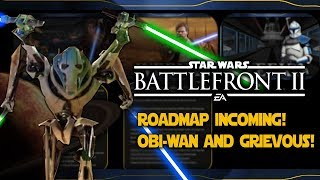 ROADMAP INCOMING! OBI-WAN AND GRIEVOUS LINES SEARCH! PREQUEL MEMES! - Star Wars Battlefront 2 News