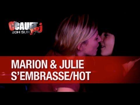 Baixar Record de Likes ! Marion et Julie s'embrassent sensuellement !!! - C'Cauet sur NRJ