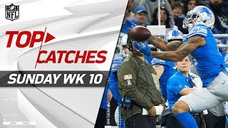 Top Catches from Sunday   NFL Week 10 Highlights