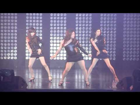 100611 Super Junior - Poker Face (Heechul) & Single Ladies (Shindong,Eeteuk,Euhyuk)