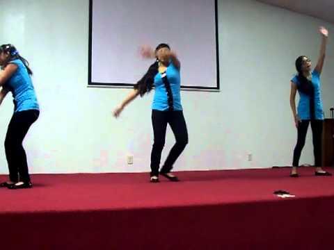 coreografia afortunados Iglesia Evangelica