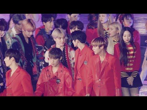 181225 방탄소년단(BTS) 지민(JIMIN) Ending(Interaction- Ong seong Woo, Suho) by Peach Jelly