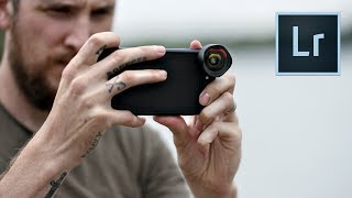 Mobile Photography - New LIGHTROOM app & lens overview!