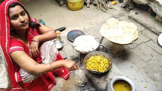 INDIAN MORNING ROUTINE 2018 | DAILY INDIAN KITCHEN ROUTINE | VILLAGE BREAKFAST MORNING ROUTINE