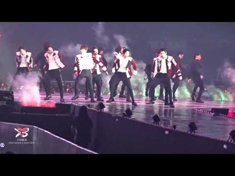180714 EXO 엑소 - Growl 으르렁 - EXO PLANET #4 - The ElyXiOn [dot] in Seoul [직캠]