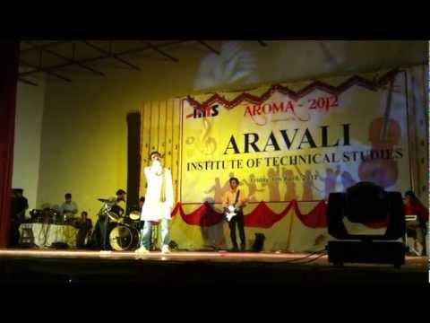 AROMA 2012 - ARAVALI ( AITS ) Annual Function Student Performance 3
