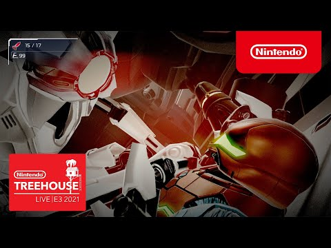 Metroid Dread - Nintendo Treehouse: Live   E3 2021 - Part 1