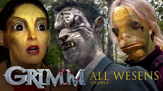 ALL the Wesen Creatures From Season 4 | Grimm