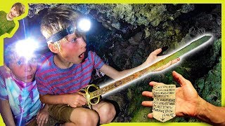 REAL PIRATE'S SWORD FOUND in ABANDONED CAVE!