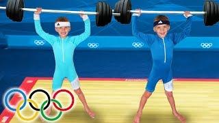 KID SIZE OLYMPICS!!!