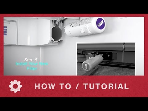 How to Install Whirlpool EveryDrop Ice & Water Refrigerator Filter 1