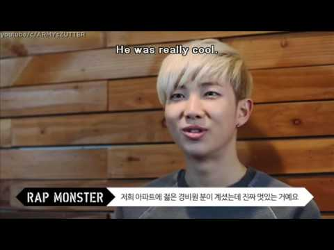 ENG SUB BTS talking about their dreams How BIGBANG, EPIK HIGH & EMINEM inspired them