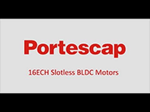 Portescap's 16ECH BLDC Motor