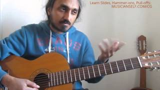 Ennodu Nee Irundhal Guitar How to: Each note, slides, swaras: Sing or play like the original Part 1