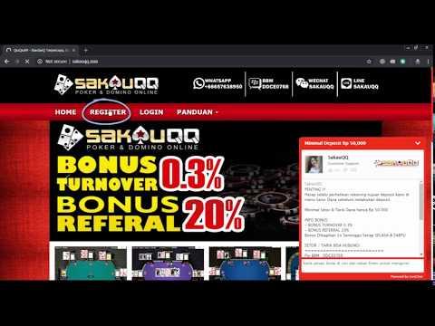 Panduan Daftar Situs Judi QiuQiu99 SakauQQ Online