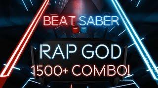 Rap God Remastered! (1500+ combo, expert+) - Beat Saber