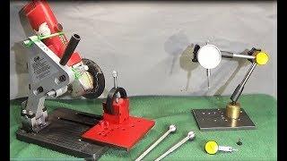 New DTI Clock Stand. Safe Polishing Tools & Slot Cutting Upgrade