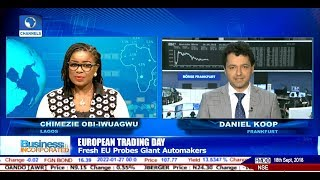 EU To Probe VW, BMW, Daimler Over Alleged Clean-Car Collusion |Business Incorporated|