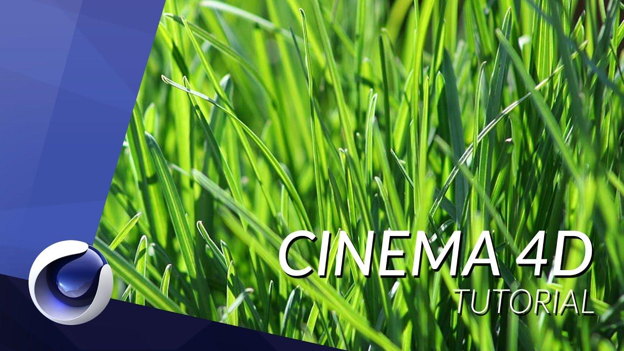 grass+texture+in+cinema+4d+tutorial