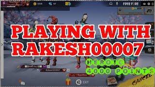 BEST PRO SETTINGS OF RAKESH00007 !! 11 KILLS SOLO RANKED GAMEPLAY