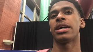 Adam Miller talks interest from Louisville basketball