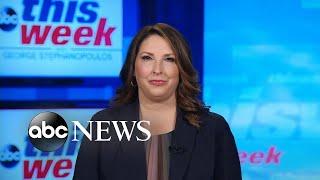 'I'm seeing more enthusiasm than I saw in 2016': RNC Chair Ronna McDaniel | ABC News