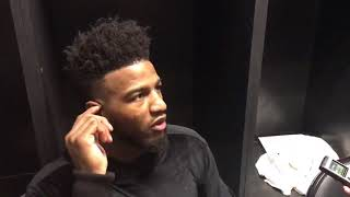 Jordan Bell Postgame Interview / GS Warriors vs LA Lakers / Dec 18