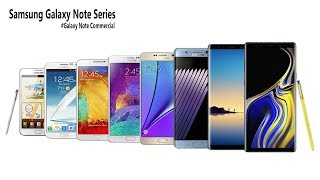 Every Samsung Galaxy Note Commercial - 2011 | 2018!!