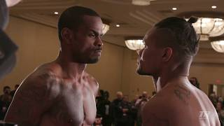 Highlights from Alvarez vs Seals Weigh-In. Both Fighters Make Weight! | Weigh In Highlights