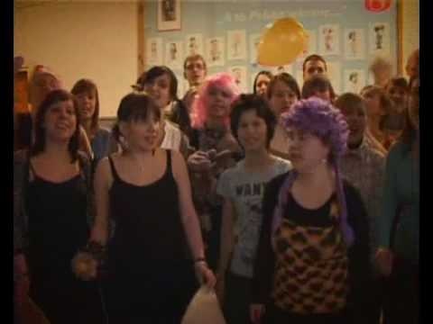 Lip Dub IV LO Cz?stochowa 2010- Polish LipDub - Spice Girls Wannabe