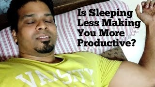 I Decided to Sleep for Only 4 Hours Every Night! See What Happened...