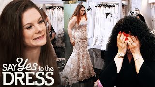 Mother Tries to Dissuade Bride From Getting a Gold Dress | Say Yes To The Dress UK
