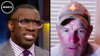 Shannon Sharpe Puts Brett Favre In A Mental Checkmate