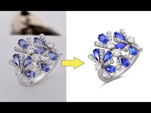 Professional High-End Jewelry Retouching in Photoshop CC
