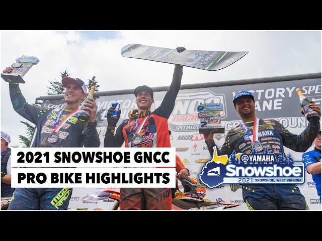 Résumé GNCC USA 2021 - RD9 - Snowshoe 2021