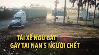 Cơn ngủ gật gây ra tai nạn thảm khốc khiến 5 người chết ở Tây Ninh