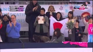 羽生結弦選手2014グランプリ・ファイナルFS(B・ユーロ解説翻訳)