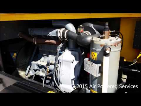 Atlas Copco XAS66 Diesel Air Compressor