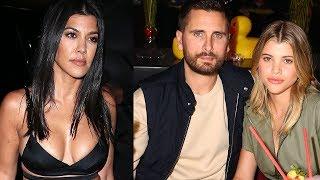 Sofia Richie REACTS To Fans BEGGING Scott Disick & Kourtney Kardashian To Get Back Together!