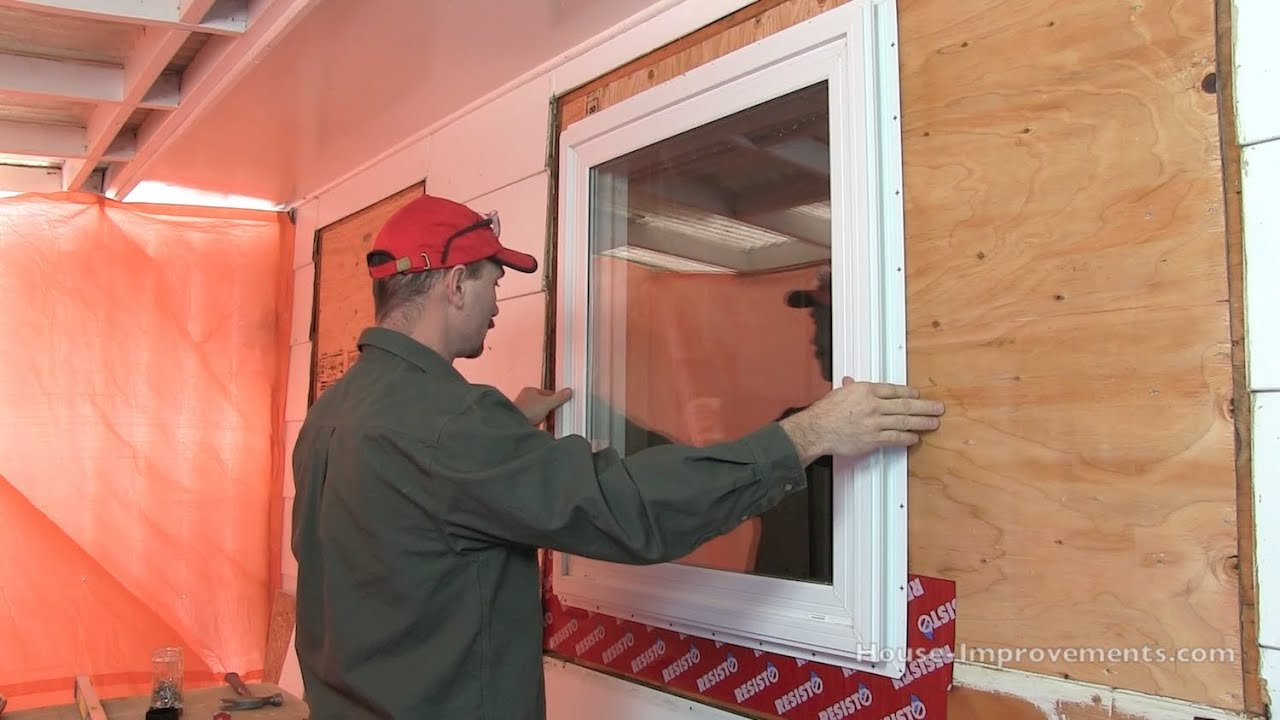 How To Install A Window With A Nailing Flange Youtube