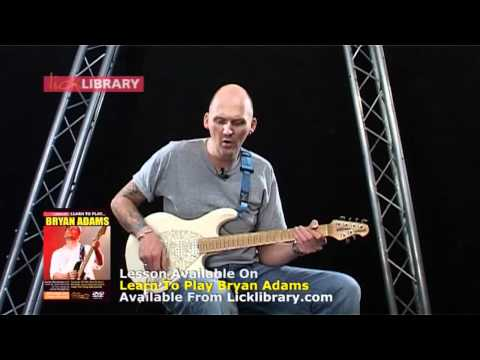 Baixar How To Play Summer Of 69 By Bryan Adams - Intro Guitar Lesson With Jamie Humphries Licklibrary