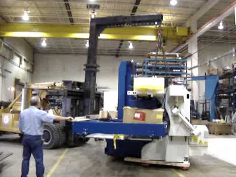 Trumpf 2030 Laser being installed at Schumacher Elevator