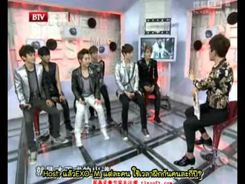 [Thai Sub] 120425 EXO-M - Music Billboard Chart Interview [FULL]