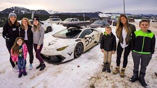 Family Vacation In A Lamborghini