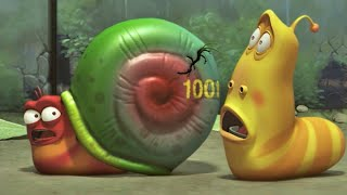 LARVA | LARVA'S SECRET OF A SNAIL | Videos For Kids | LARVA Full Episodes