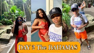 EXPLORING THE BAHAMAS!! MEETING NEW FRIENDS ( Anniversary Cruise Day 2) LEELEE & GRAMZ