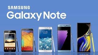 Evolution of Samsung Galaxy Note Series