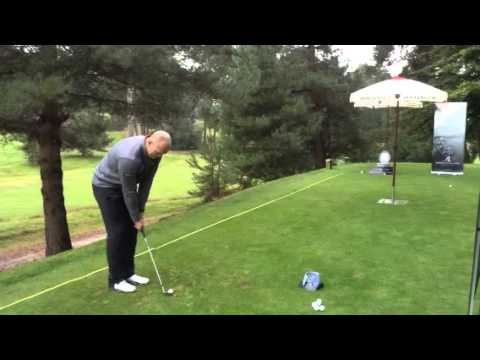 Mike Tindall taking on The Loo Chip Challenge