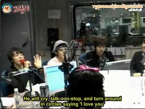 [eng sub] Ryeowook is cute even when drunk